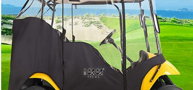 Best golf cart enclosure - My Golf Cart Review